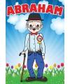Mega poster Abraham